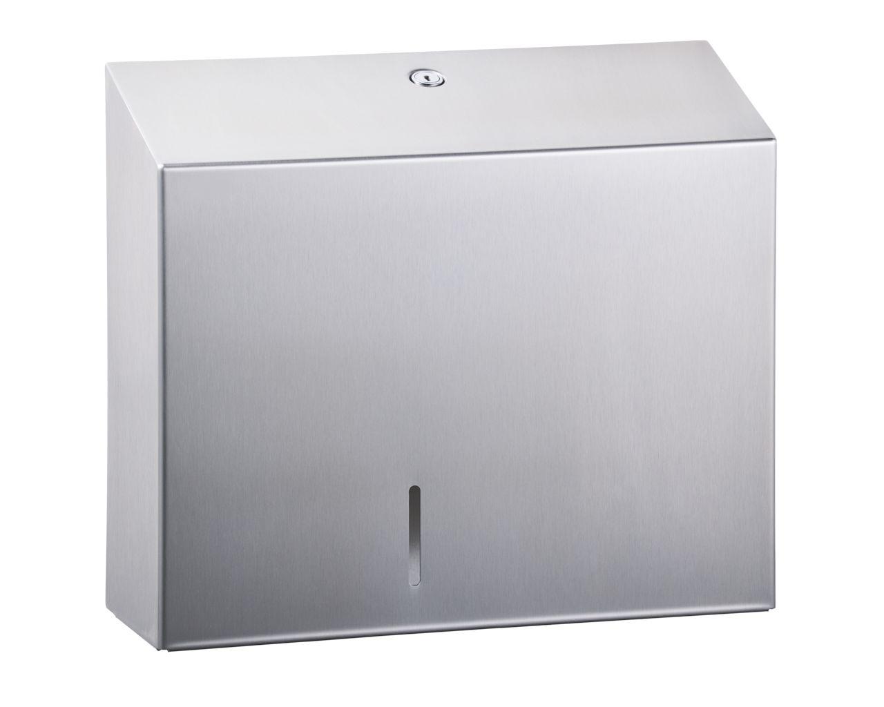 Fresh Toilettenpapierspender Maxi Jumbo Edelstahl